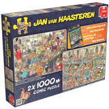 2 in 1 Multi Pack Set 1000 Piece Jigsaw Puzzle