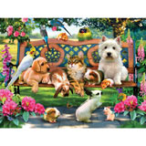 Pets in the Park 300 Large Piece Jigsaw Puzzle