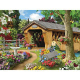 Garden Bridge 300 Large Piece Jigsaw Puzzle