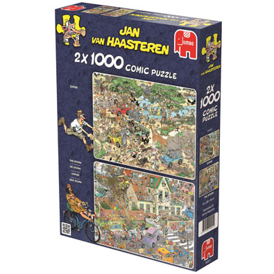 2 in 1 Multi Pack 1000 piece Jigsaw Puzzle Set