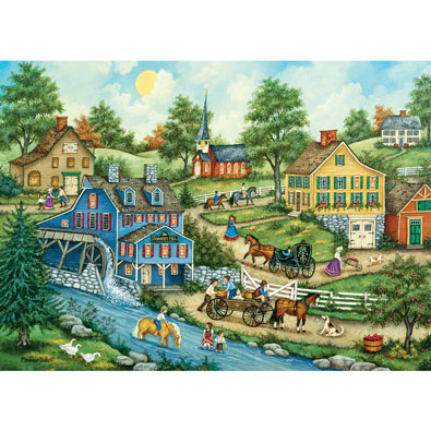 Cooling Off 1000 Piece Jigsaw Puzzle