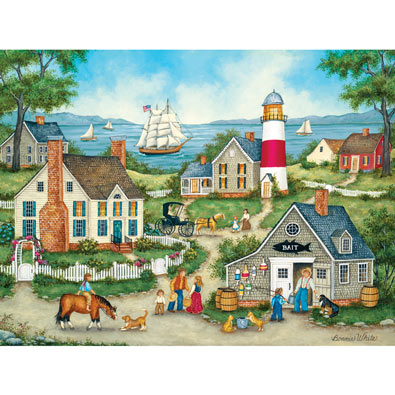 Buying Bait 550 Piece Jigsaw Puzzle