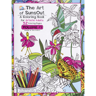 Coloring Books for Artistic Adults - Volume 1