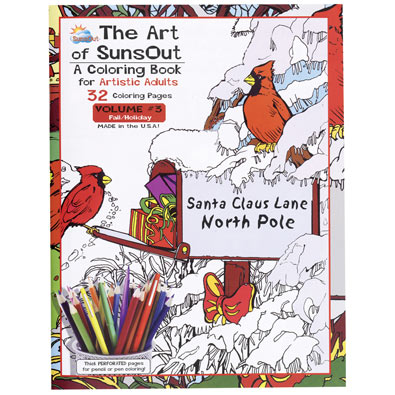 Advanced Coloring Christmas Book