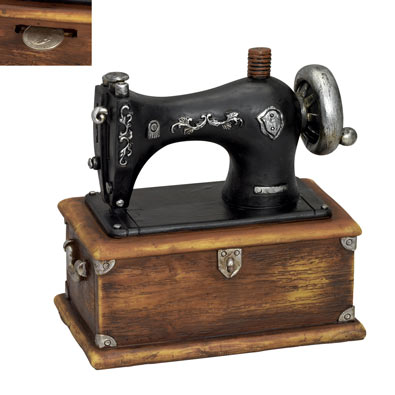 Antique Sewing Machine Bank