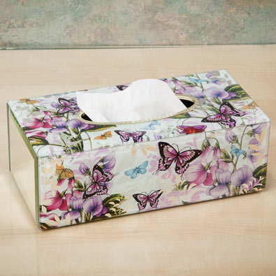 Butterfly Tissue Box