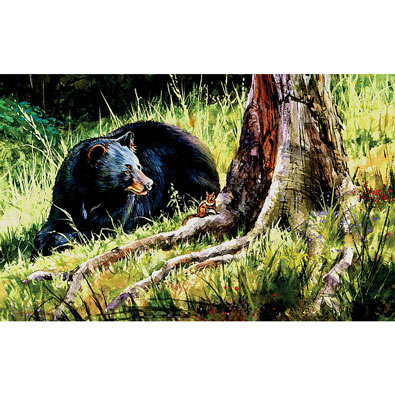 Forest Buddies 300 Large Piece Jigsaw Puzzle