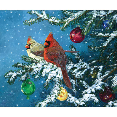 Natural Ornaments 300 Large Piece Jigsaw Puzzle
