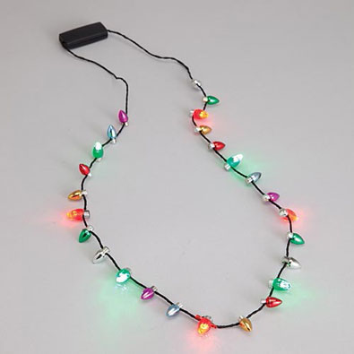 Flashing Bulb Necklace