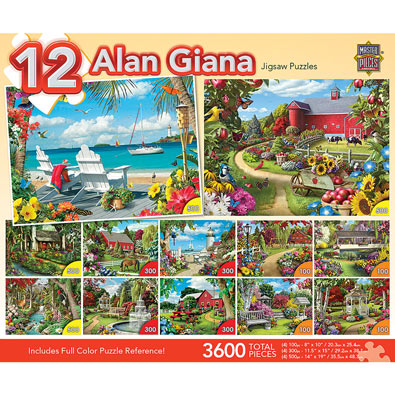 Alan Giana 12 in 1 Multipack Set