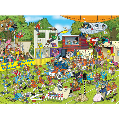 Chaos on the Field 1000 Piece Jigsaw puzzle