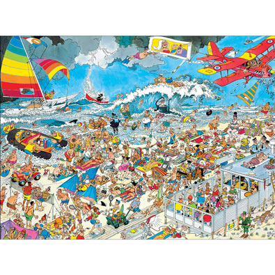 At the Beach 1000 Piece Jigsaw Puzzle