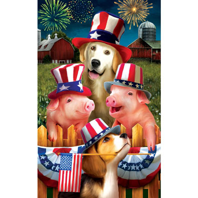 4th on the Farm 300 Large Piece Jigsaw Puzzle