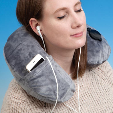 Deluxe Inflatable Neck Pillow