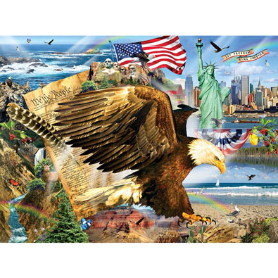 Across the Land 1000 Piece Jigsaw Puzzle