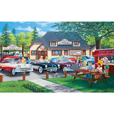 Life in the Past Lane 300 Large Piece Jigsaw Puzzle