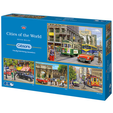 Cities of the World 4 in 1 Multipack