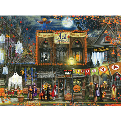 Fall Festival 500 Piece Jigsaw Puzzle
