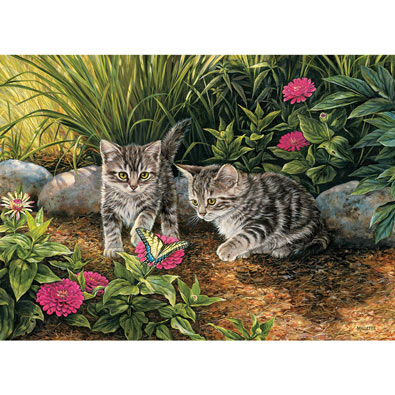 Double Trouble Kittens 1000 Piece Jigsaw Puzzle