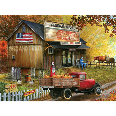 Feed and Seed General Store 300 Large Piece Jigsaw Puzzle