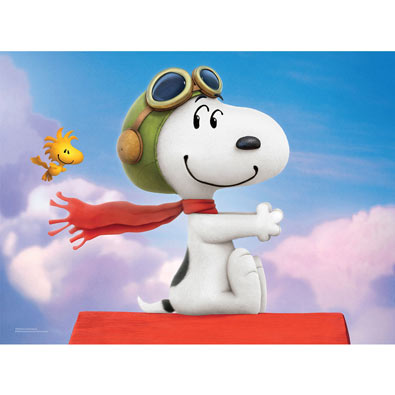 Flying Ace 100 Large Piece Jigsaw Puzzle