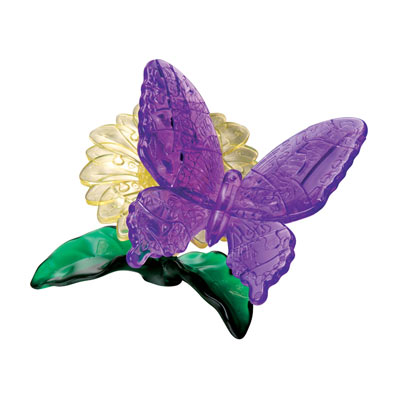 3D Crystal Butterfly Puzzles