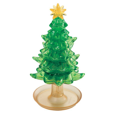 3D Crystal Christmas Tree Puzzle