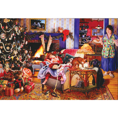 Christmas Thieves 1000 Piece Jigsaw Puzzle