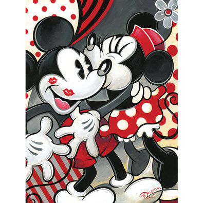 Hugs and Kisses 550 Piece Jigsaw Puzzle