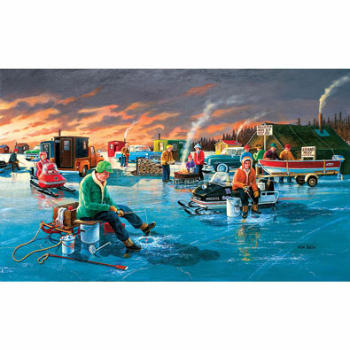 Fishing Contest 550 Piece Jigsaw Puzzle