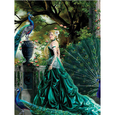 Emerald Hawthorne 750 Piece Jigsaw Puzzle
