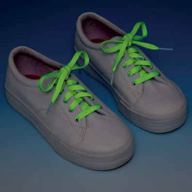 Glow in the Dark Laces