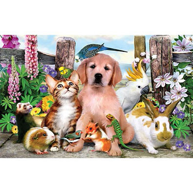 Good Companions 100 Piece Jigsaw Puzzle
