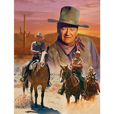 The Cowboy Way 1000 Piece Jigsaw Puzzle