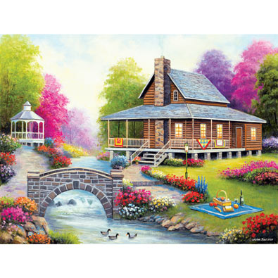 Apple Cove 550 Piece Jigsaw Puzzle