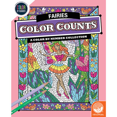 Fairies Color Counts Book