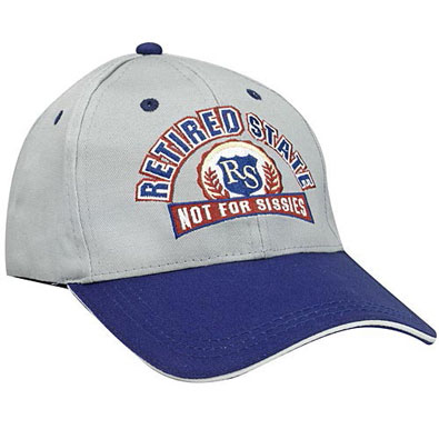 Baseball Cap-Retired State Gift