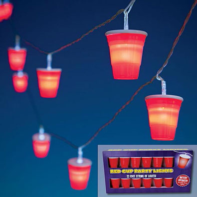 Red Cup Party Lights
