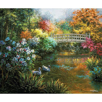 Treasury Of Splendor 200 Piece Jigsaw Puzzle
