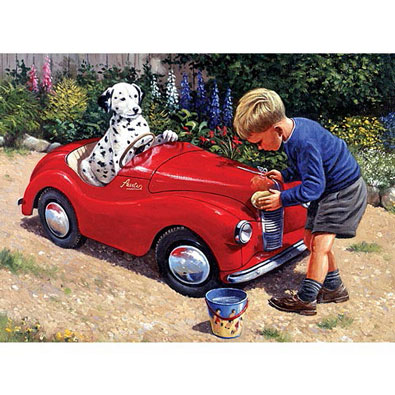 Spot's Car Wash - Painted By Numbers Kit