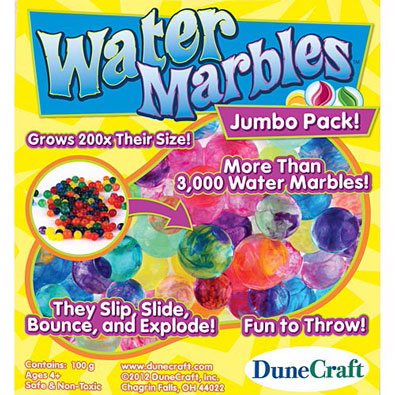 Growing Water Marbles