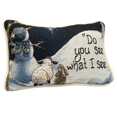Do You See What I See Pillow