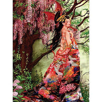 Silk 750 Piece Jigsaw Puzzle