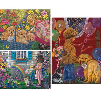 Childhood Memories 3-in-1 Multi Piece Jigsaw Puzzle