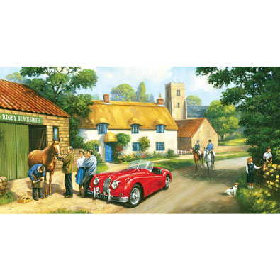 The Village Blacksmith 300 Large Piece Jigsaw Puzzle