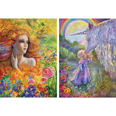 Set of 2: Josephine Wall 1000 Piece Jigsaw Puzzle