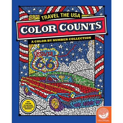 Travel the USA-Color Counts Book