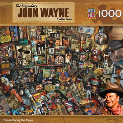 Remembering the Duke 1000 Piece Collage Puzzle
