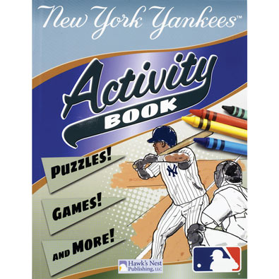 MLB Activity Books - Yankees