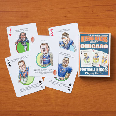 Chicago Bears - Football Heroes Playing Cards